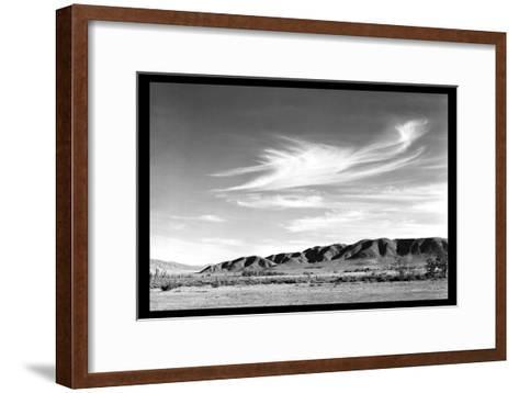 Landscape at Manzanar-Ansel Adams-Framed Art Print