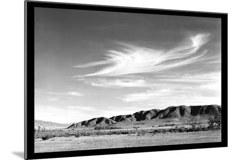 Landscape at Manzanar-Ansel Adams-Mounted Art Print