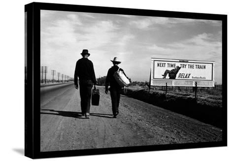 Toward Los Angeles-Dorothea Lange-Stretched Canvas Print