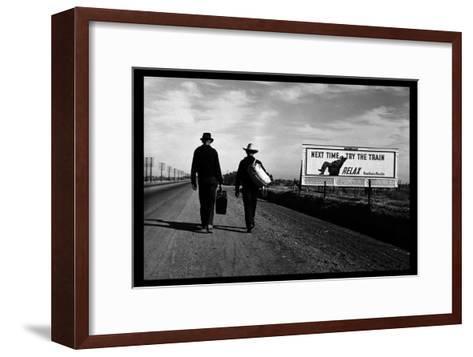 Toward Los Angeles-Dorothea Lange-Framed Art Print
