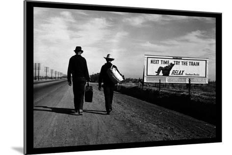 Toward Los Angeles-Dorothea Lange-Mounted Art Print