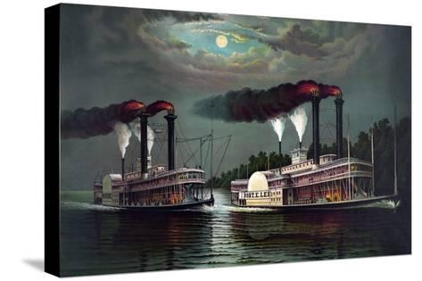 Robert E. Lee Steamboat Company-William Donaldson-Stretched Canvas Print