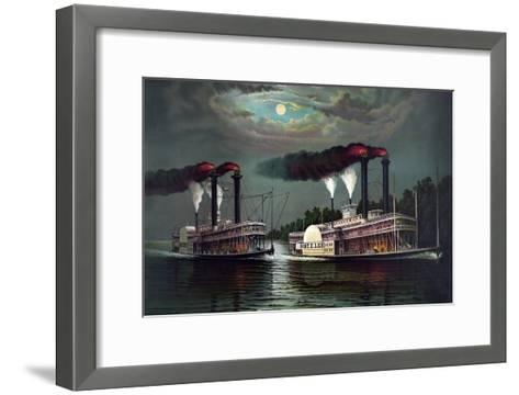 Robert E. Lee Steamboat Company-William Donaldson-Framed Art Print