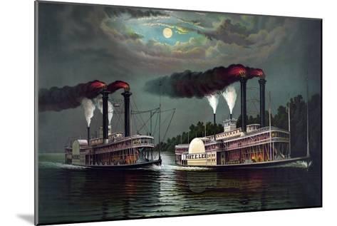 Robert E. Lee Steamboat Company-William Donaldson-Mounted Art Print