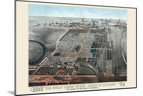 Great Union Stockyards of Chicago-Charles Rascher-Mounted Art Print