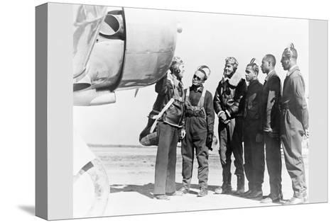 Tuskegee Airmen--Stretched Canvas Print
