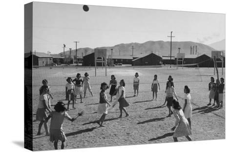 Vollyball-Ansel Adams-Stretched Canvas Print