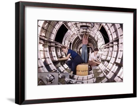 Rosie the Riveter--Framed Art Print