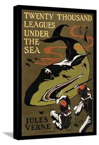 Twenty Thousand Leagues under the Sea-Jules Verne-Stretched Canvas Print
