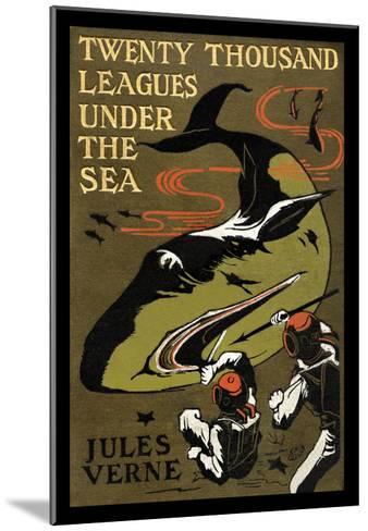 Twenty Thousand Leagues under the Sea-Jules Verne-Mounted Art Print