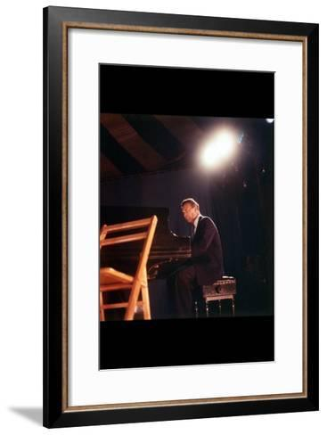 Dave Brubeck-Carol Reiff-Framed Art Print