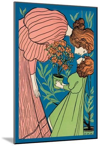 Mother and Daughter--Mounted Art Print