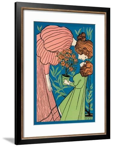 Mother and Daughter--Framed Art Print