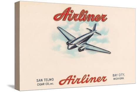 Airliner Brand Cigars--Stretched Canvas Print