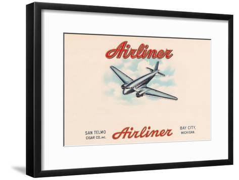 Airliner Brand Cigars--Framed Art Print