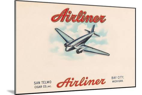 Airliner Brand Cigars--Mounted Art Print