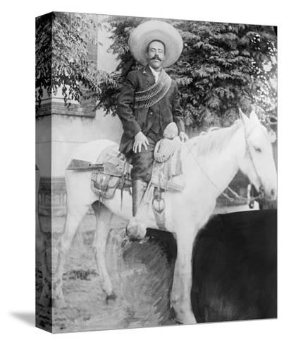 Pancho Villa--Stretched Canvas Print