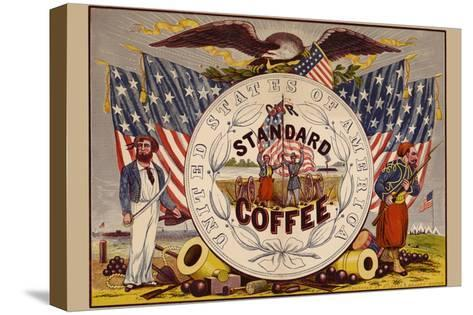 United States of America, Our Standard Coffee-A^ Holland-Stretched Canvas Print