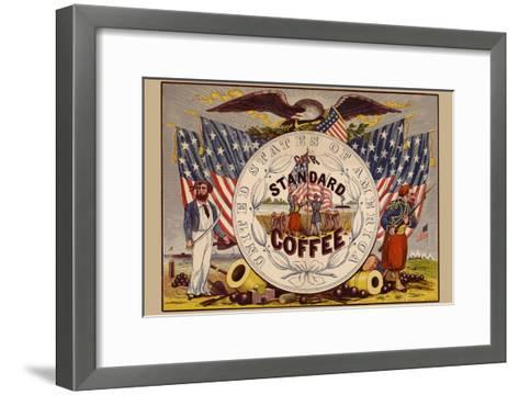 United States of America, Our Standard Coffee-A^ Holland-Framed Art Print