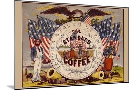 United States of America, Our Standard Coffee-A^ Holland-Mounted Art Print