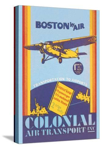 Colonial Air Transport - Boston by Air--Stretched Canvas Print