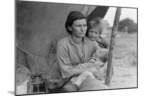 Migrant Agricultural Worker's Family-Dorothea Lange-Mounted Art Print