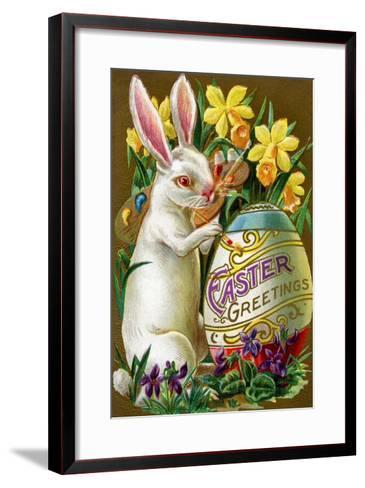 Easter Greetings--Framed Art Print