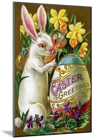 Easter Greetings--Mounted Art Print