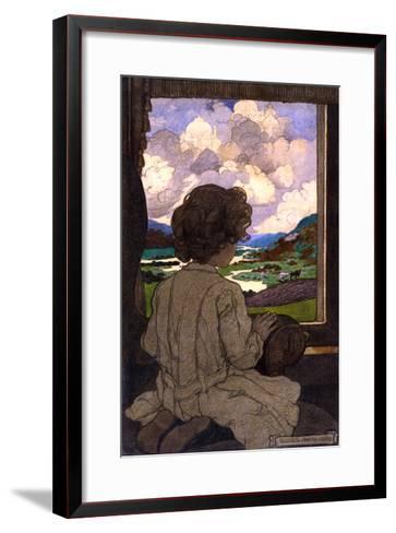 The Journey-Elizabeth Shippen Green-Framed Art Print