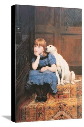 Sympathy-Briton Rivi?re-Stretched Canvas Print