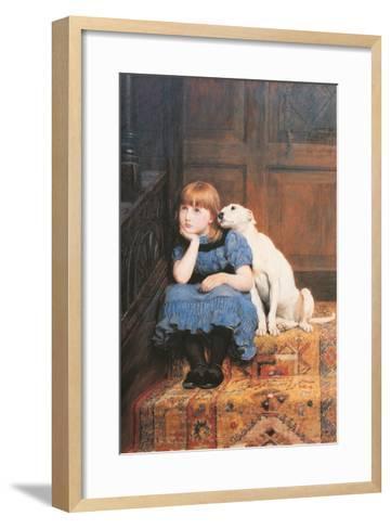 Sympathy-Briton Rivi?re-Framed Art Print