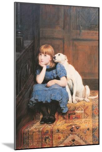 Sympathy-Briton Rivi?re-Mounted Art Print