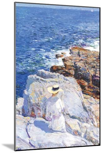 Southern Rock Riffs, Appledore-Childe Hassam-Mounted Art Print