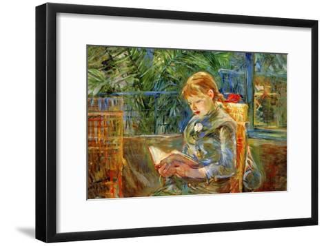 Little Girl-Berthe Morisot-Framed Art Print