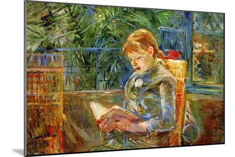 Little Girl-Berthe Morisot-Mounted Art Print