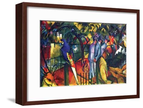 Zoological Gardens-Auguste Macke-Framed Art Print