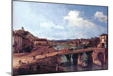 Turin or Torino-Canaletto-Mounted Art Print