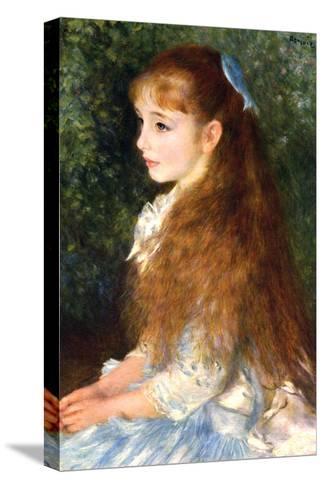 Irene Cahen D Anvers-Pierre-Auguste Renoir-Stretched Canvas Print