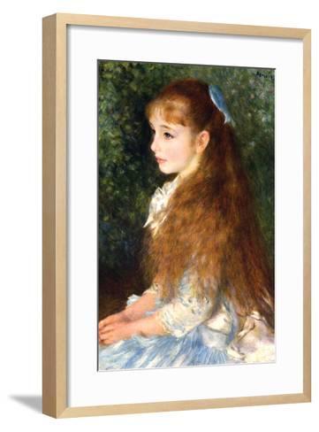 Irene Cahen D Anvers-Pierre-Auguste Renoir-Framed Art Print