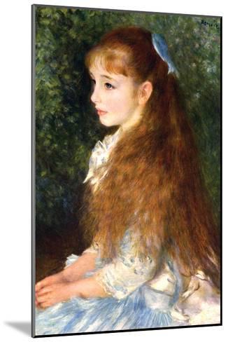 Irene Cahen D Anvers-Pierre-Auguste Renoir-Mounted Art Print