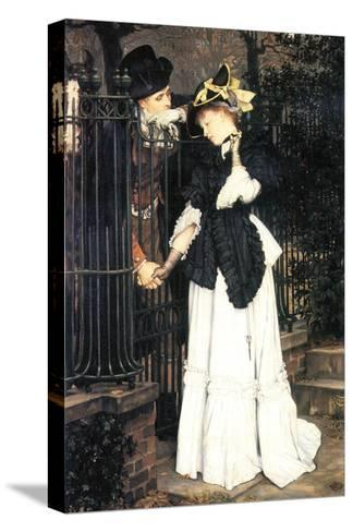 The Farewell-James Tissot-Stretched Canvas Print