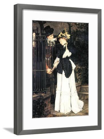 The Farewell-James Tissot-Framed Art Print