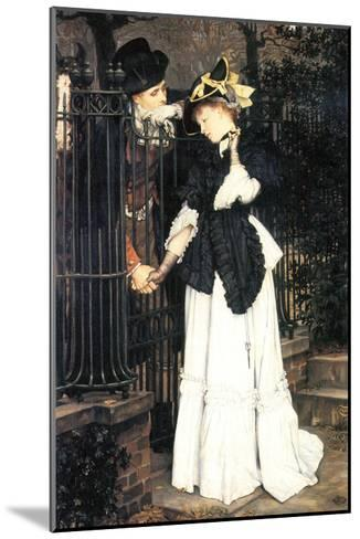 The Farewell-James Tissot-Mounted Art Print