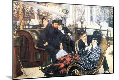 The Last Evening-James Tissot-Mounted Art Print