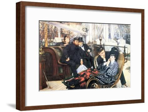 The Last Evening-James Tissot-Framed Art Print