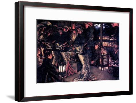The Prodigal Son in Modern Life - in Foreign Countries-James Tissot-Framed Art Print