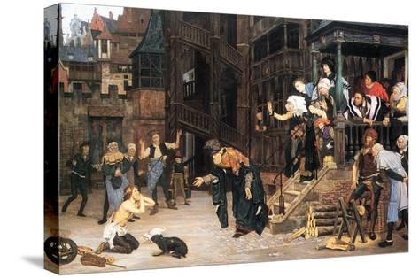 The Return of the Prodigal Son-James Tissot-Stretched Canvas Print