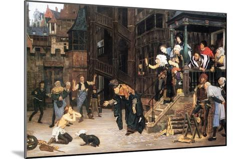 The Return of the Prodigal Son-James Tissot-Mounted Art Print