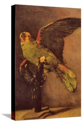 Parrot-Vincent van Gogh-Stretched Canvas Print