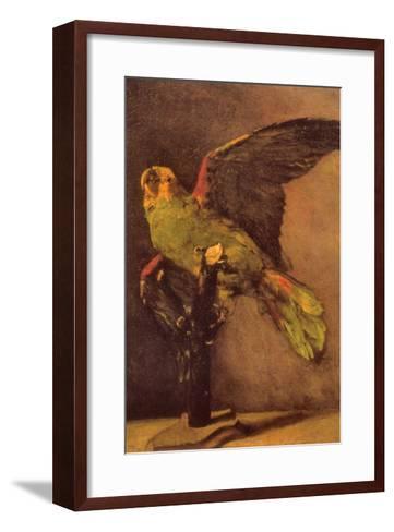 Parrot-Vincent van Gogh-Framed Art Print